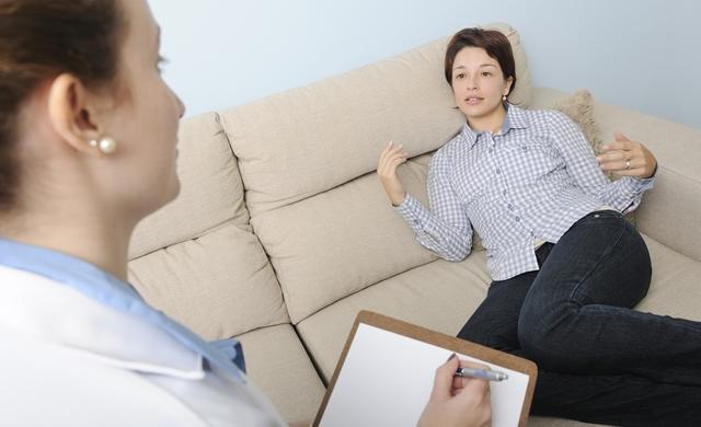 на приеме психотерапевта