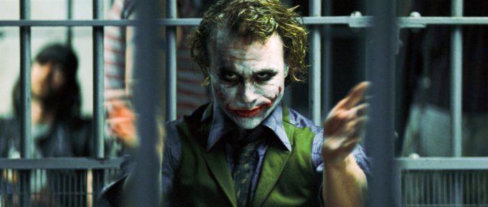 психопат за решеткой